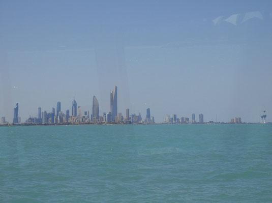 Kuwait, Skyline, Reisebericht, Reiseblog, Sehenswürdigkeiten, Attraktion, Failaka, Insel, Fähre,