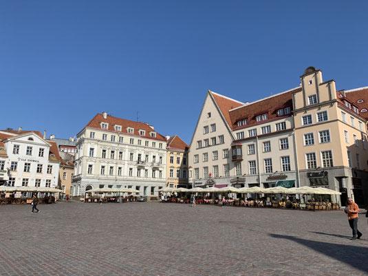 Estland, Tallinn, Reval, Altstadt, Rathausplatz