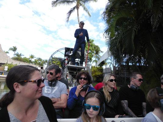 Florida, Everglades, Wildpark Everglades Alligator Farm, Airboat, Bootstour, Ausflug, Sümpfe
