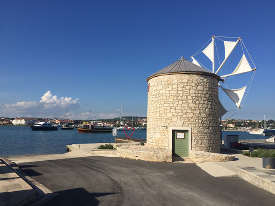 Kroatien, Premantura, segeln, Segeltörn, Medulin, Reisebericht, Reiseblog, Windmühle