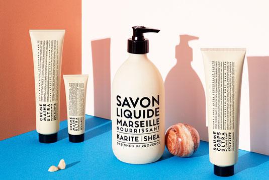 Nischenkosmetik von pretty-pretty.me. Reinigen Sie Ihre Haut und versorgen Sie Ihren Körper mit dringend benötigter Feuchtigkeit mit Produkten von La Compagnie de Provence oder Codage.