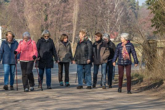 Die Sportgruppe III der Volkssolidarität in Zühlsdorf
