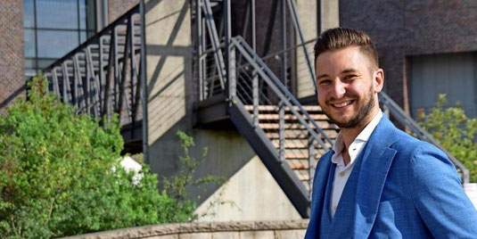"""""""Wir wollen den jungen Leuten in Garbsen eine Stimme geben"""": Philipp Salinski ist der Vorsitzende der neu gegründeten Jungen Union. Quelle: Gerko Naumann (www.haz.de)"""