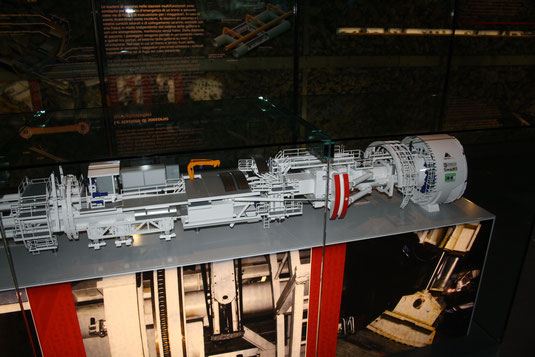 TBM model in Bodio