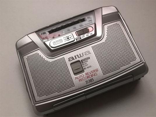 AIWA HS-JS 3585 Kassettenabspielgerät mit sehr vielen Funktionen und Zubehör.