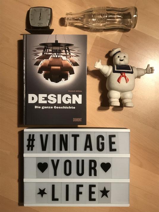 Design - Die ganze Geschichte von Elizabeth Wilhide aus dem Dumont Verlag. Buchempfehlung der Collage Gallery Vintage Interior & Classic Design Speyer.