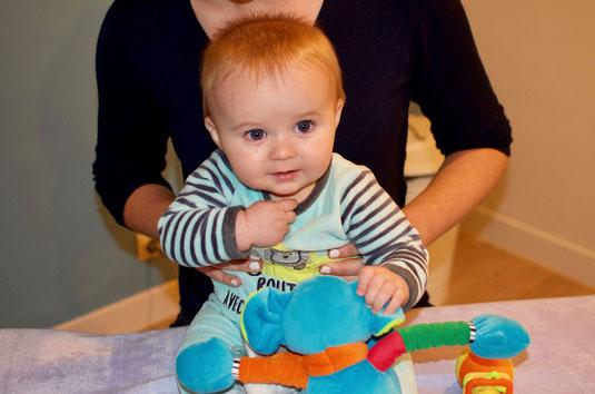 Consultation ostéopathie pour bébés et nourrissons
