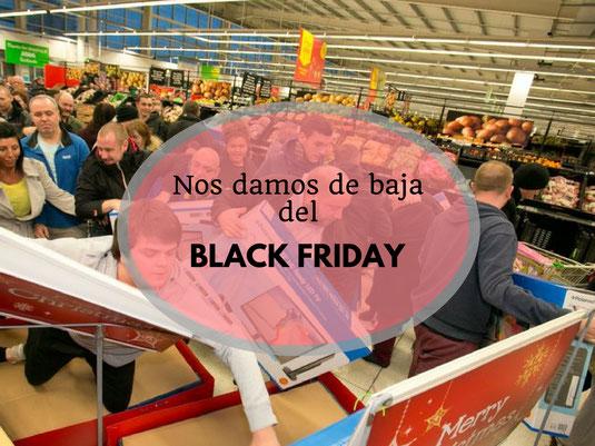 Cuidado con Black Friday - AorganiZarte