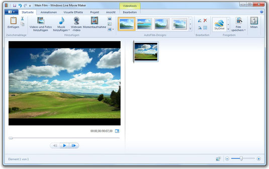 Windows Movie Maker Anleitung