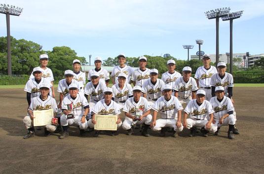 準優勝チーム:水戸ベースボールクラブ