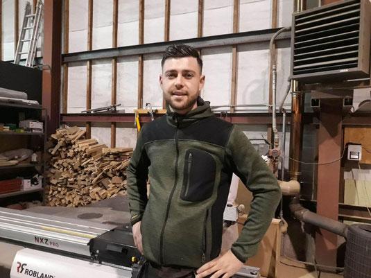 Portrait | Marc-Antoine Dujardin, Woodleather à Bomal