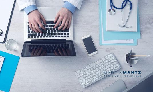 Aktueller Datenschutz in Deutschland / Datenschutzgrundverordnung & Datenschutzrecht in Unternehmen / Erste Hilfe für Ärzte! Erste-Hilfe-FAQ für Arztpraxen zur Umsetzung der DS-GVO