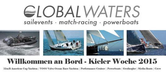 Kieler Woche 2015 mit Globalwaters