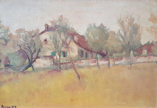VAUD, le canton de Vaud. peinture, peintres vaudois, village vaudois, galerie Lausanne, Charles Clément, galerie de tableaux, antiquités Cheseaux