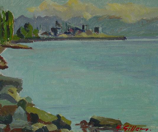 Lausanne, château Saint- Maire, tableaux vaudois, Lausanne vue par les peintres, Jean-Victor BERTIN, la cité, Gillard, Ouchy Chantier naval C.G.N.