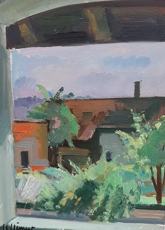 VAUD, le canton de Vaud. peinture, peintres vaudois, village vaudois, galerie Lausanne, Charles Clément, galerie de tableaux, antiquités
