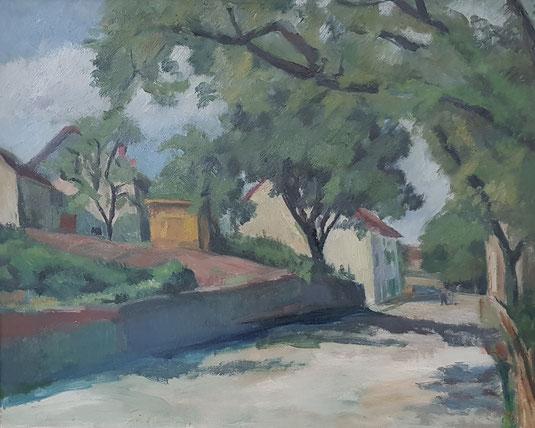 VAUD, le canton de Vaud. peinture, peintres vaudois, village vaudois, galerie Lausanne, Charles Clément, galerie de tableaux, antiquités, Begnins