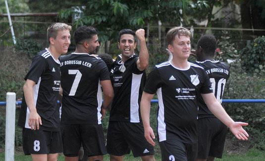 Borussia-Jubel nach dem Führungstor