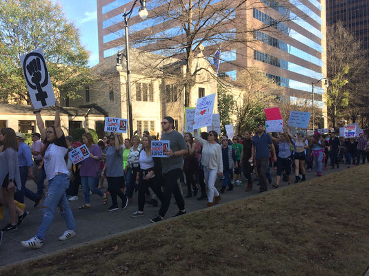 Sister March in Birmingham, Alabama. Photo courtesy of Esther Ciammachilli.