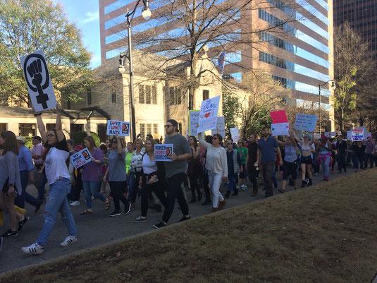 Sister March in Birmingham, Alabama. Photo courtesy of Esther Ciammachilli.