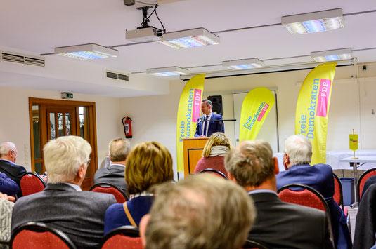 Dr. Volker Wissing, stellv. Ministerpräsident Rheinland-Pfalz, Minister für Wirtschaft, Verkehr und Weinbau