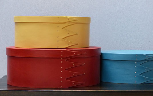 Shaker oval boxes / Seeland