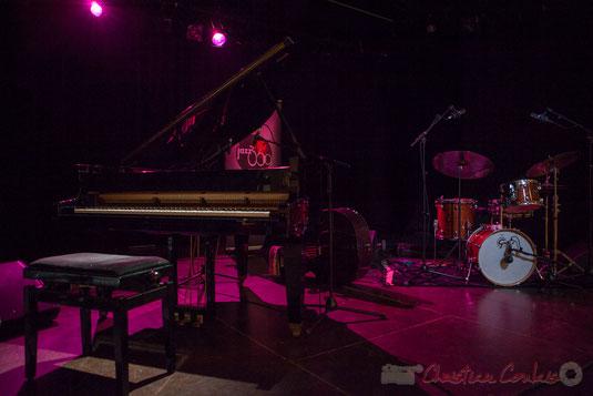 Soirée Cabaret JAZZ360, Salle culturelle de Cénac, Gironde. Ce soir le Trio Marcelle, samedi 5 novembre 2016