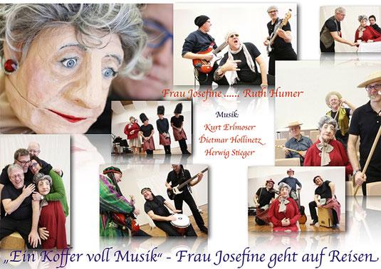 Ein Koffer voll Musik - Collage (c) Reinhard Winkler