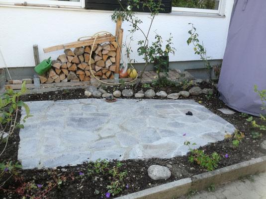 Terrassen, Gartengestaltung.