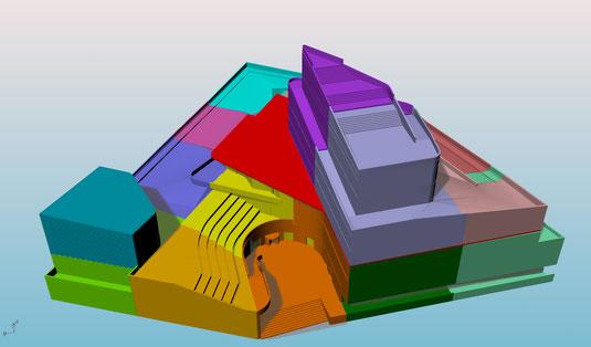 Maquette Architecture 3d Kox Impression 3d