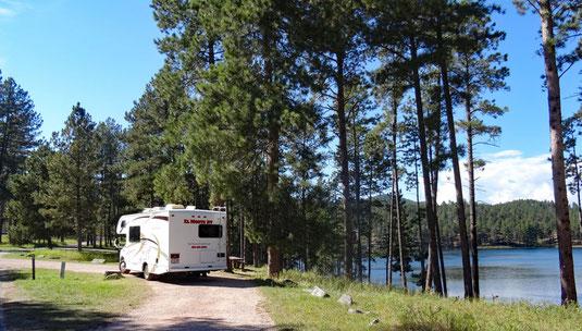 Sheridan Lake Campground, Black Hills National Forest, South Dakota