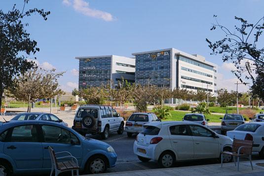 In Be'er Scheva entwickelt sich ein Tech-Park mit vielen Start-ups (Foto: Michael Sömmer)