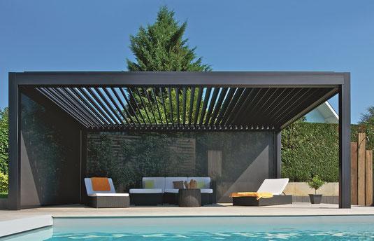 Lamellendächer und Terrassendächer bei Martens kaufen