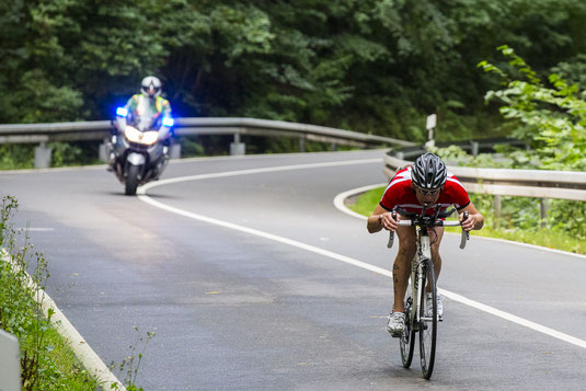 Höhepunkt des Triathlons, der Hexentanzplatz