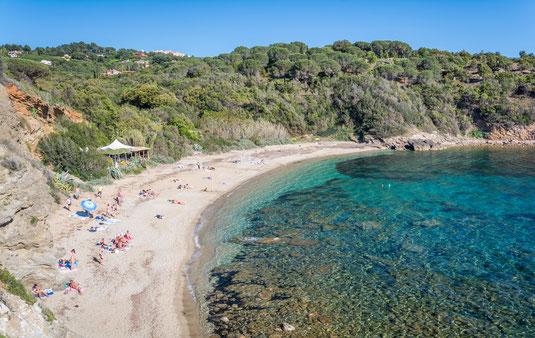 nude beach elba island