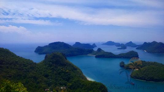 Koh Samui Sehenswürdigkeiten Ang Thong Marine Nationalpark