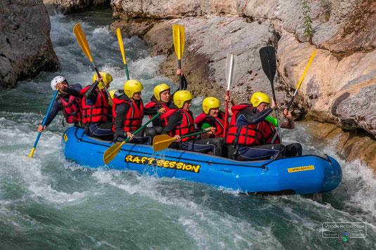 rafting verdon, rafting gorges du verdon, rafting verdon castellane, rafting castellane verdon