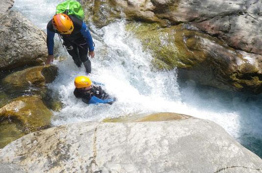 canyoning verdon, canyoning gorges du verdon, canyoning castellane verdon