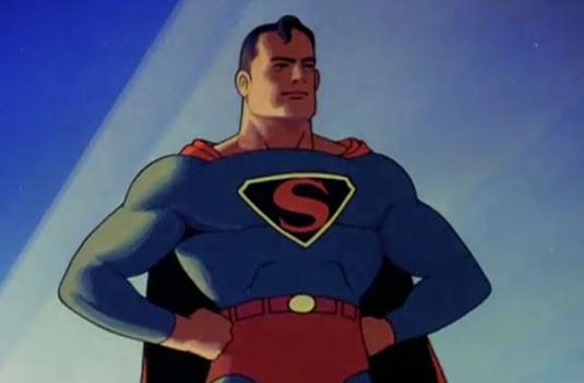 The Fleischer Brother's animated Superman
