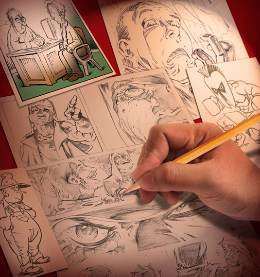 Comic creator Aaron Warner shares the one common requirement needed to produce incredible comic pages.