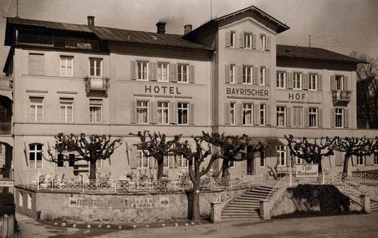 Bayerischer Hof Historisch