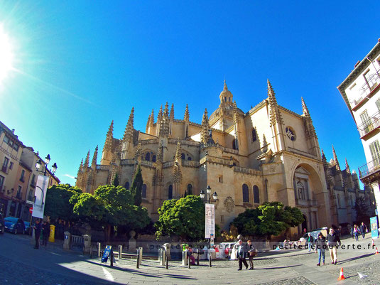 Catedral de Segovia, Cathédrale de Ségovie espagne petite découverte