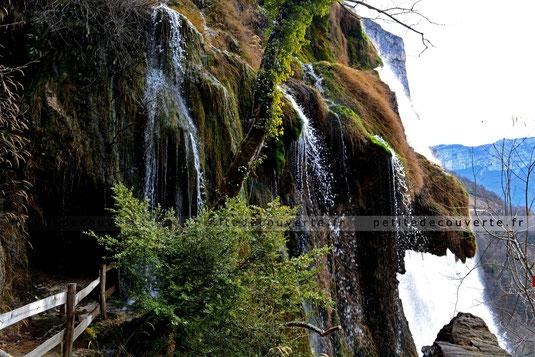 Cascade - Grotte de Choranche - Isère