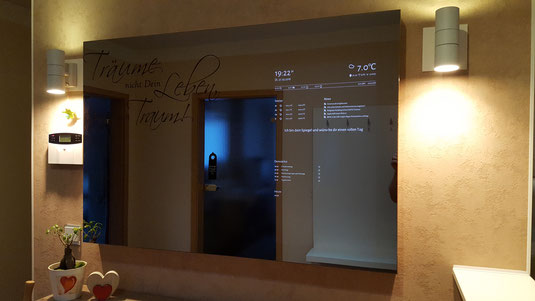 Spiegel Bestellen 9 : Pilkington spionspiegel mirropane chrome spy für smart mirror