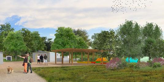 Landscape architect Venice Isola di Campalto progetto da3 studio