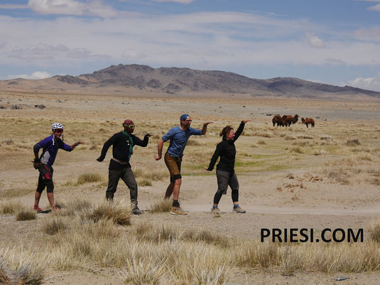 Unsere Gang in der Mongolei - unterwegs mit Ivan und Nick
