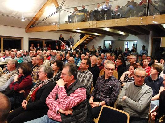 Informationsveranstaltung der Bürgerinitiative im Rathaus Inzigkofen