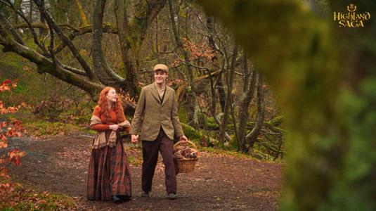 Highland Saga Film, Caitlin and Dougie, Lovestory