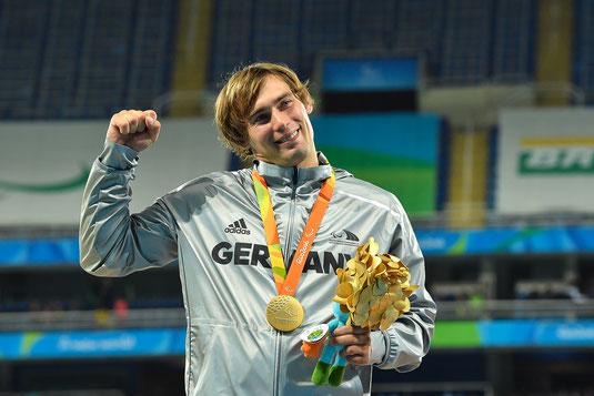 Paralympics-Sieger Sebastian Dietz (Quelle: Ralf Kuckuck/DBS)