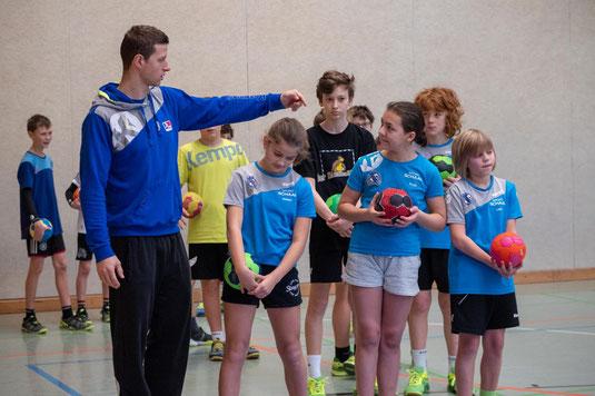Handballnationalspieler Martin Strobel (Foto: Werner Kreuscher)